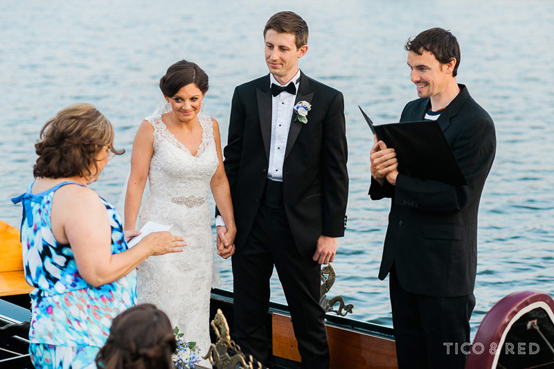 Wedding readings by the Providence River
